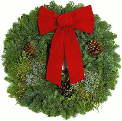 Mixed Evergreen Wreath